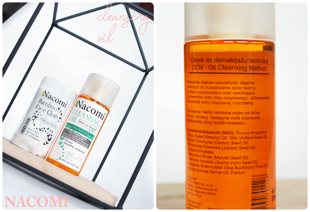 cleansing oil nacomi