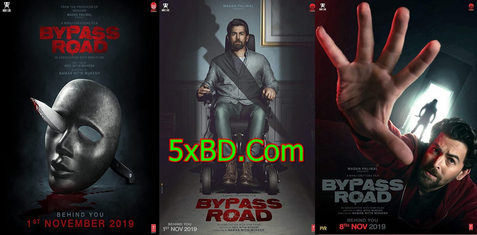 Bypass Road 2019 Hindi 1080p – 720p – HEVC – 480p ORG WEB-DL ESubs