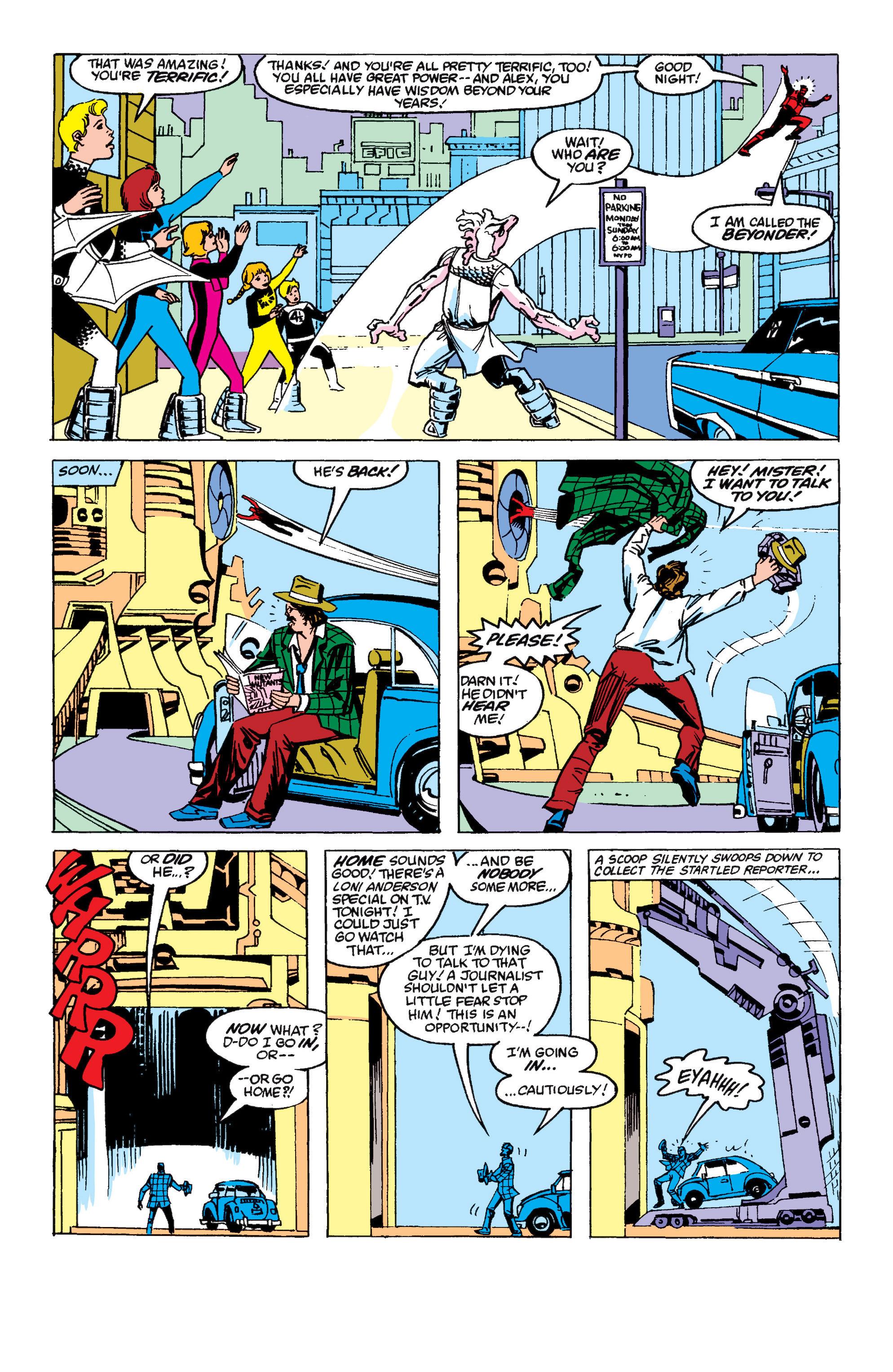 Read online Secret Wars II comic -  Issue #6 - 6