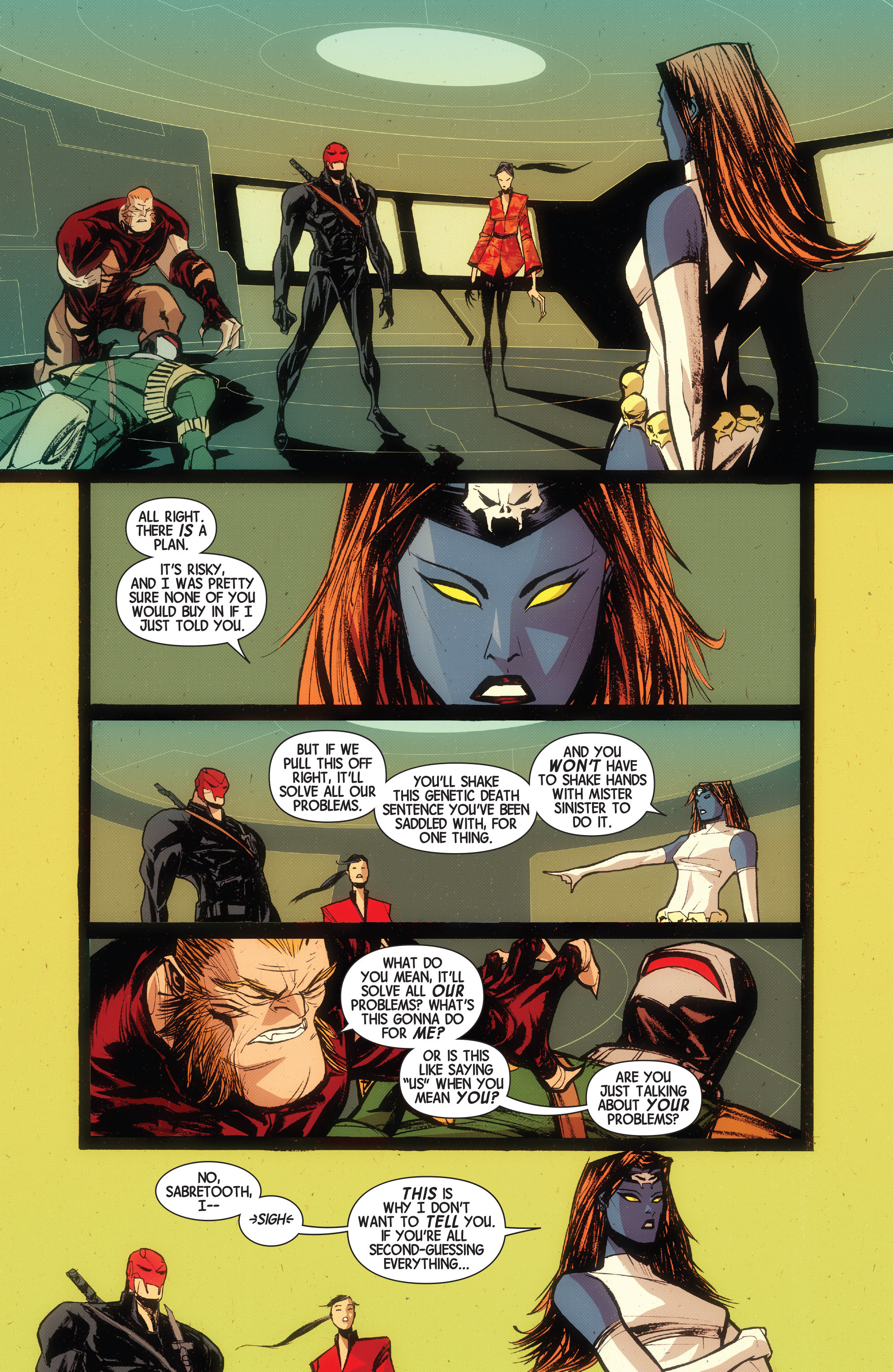 Read online Wolverines comic -  Issue #15 - 9