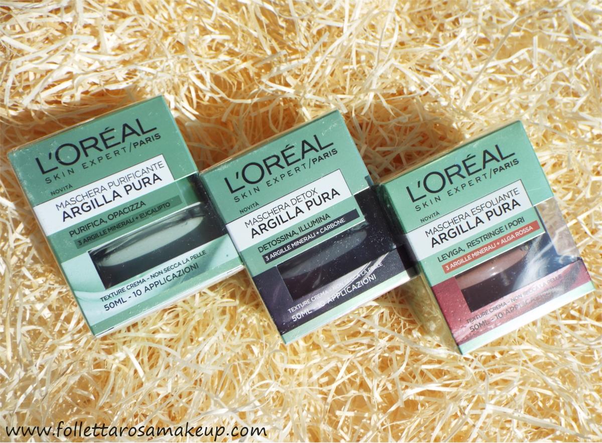 maschere-argilla-pura-loreal-recensione
