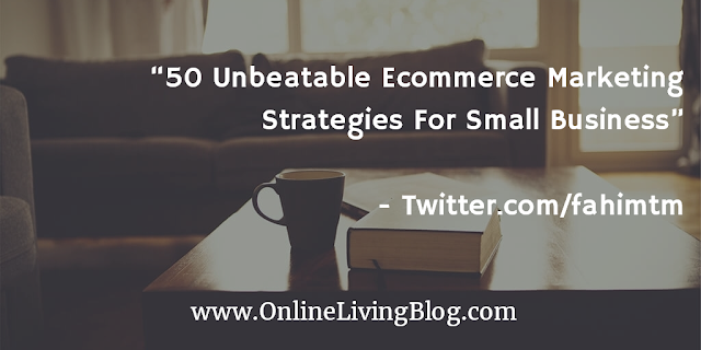 Ecommerce Marketing Strategies For Small Business