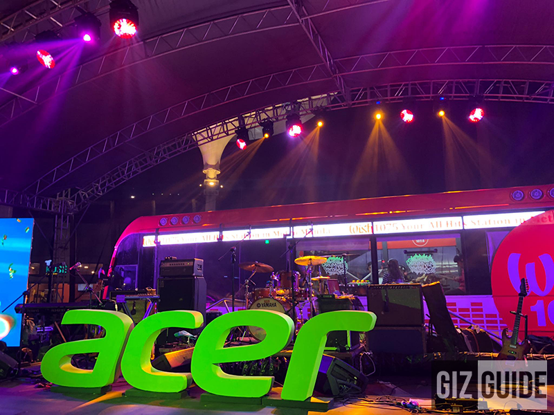 Acer Day 2018 filled with fun prizes and chill music