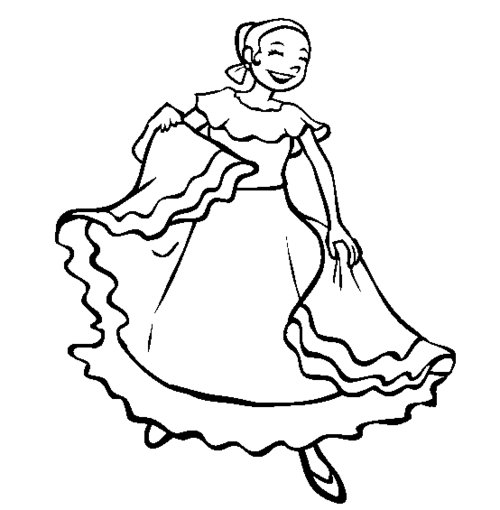Spanish coloring pages for kids disney coloring pages for Latino coloring pages