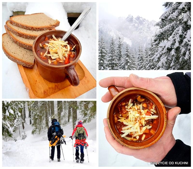 produkt regionalny, Chroniona Nazwa Pochodzenia - ChNP, przepisy z oscypkiem, zupa gulaszowa, zycie od kuchni