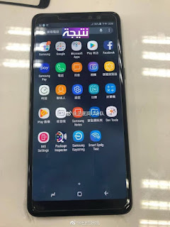 صور مسربة لموبايل Galaxy A8+ 2018 والامكانيات المتوقعة
