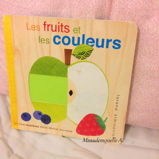 Les fruits et les couleurs