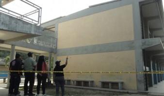 Una niña fallecida y tres heridos tras desprenderse viga en colegio de Guanta