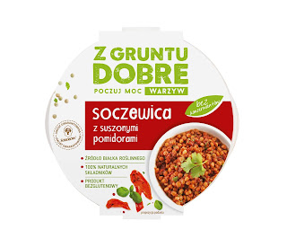 """Soczewica z suszonymi pomidorami """"Z gruntu dobre"""""""