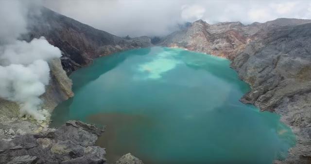 Kawah Ijen - Indonésia