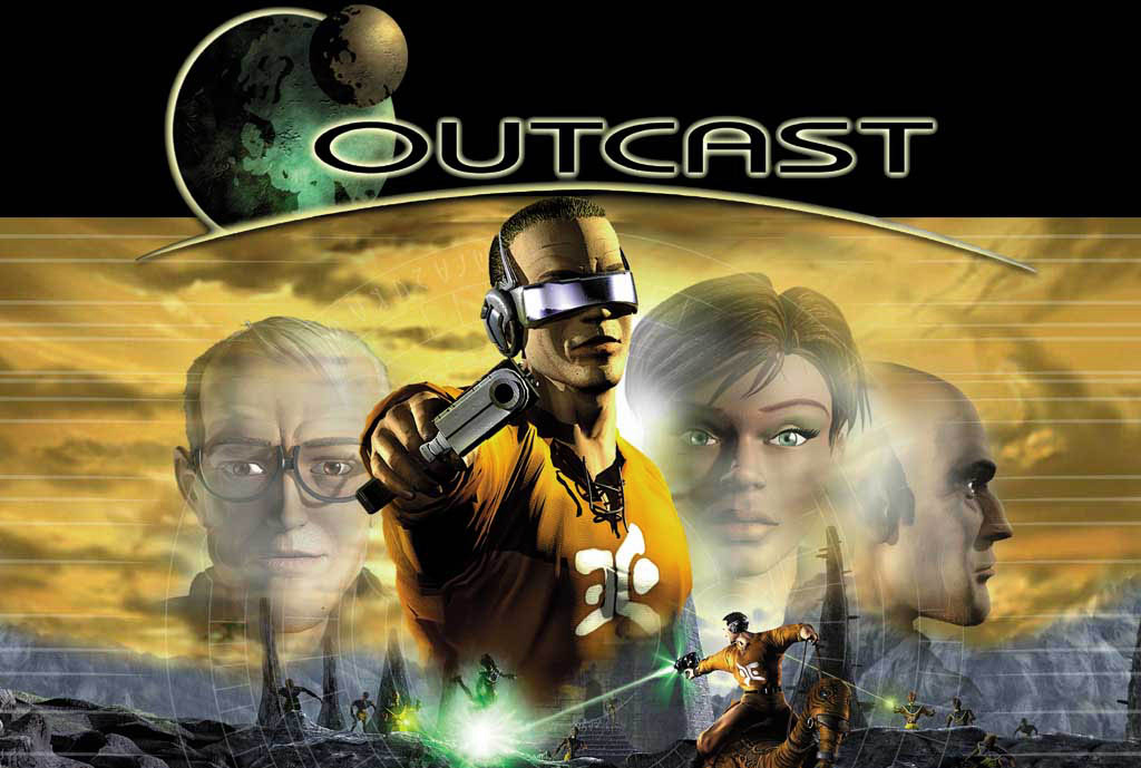 Outcast PC title screen