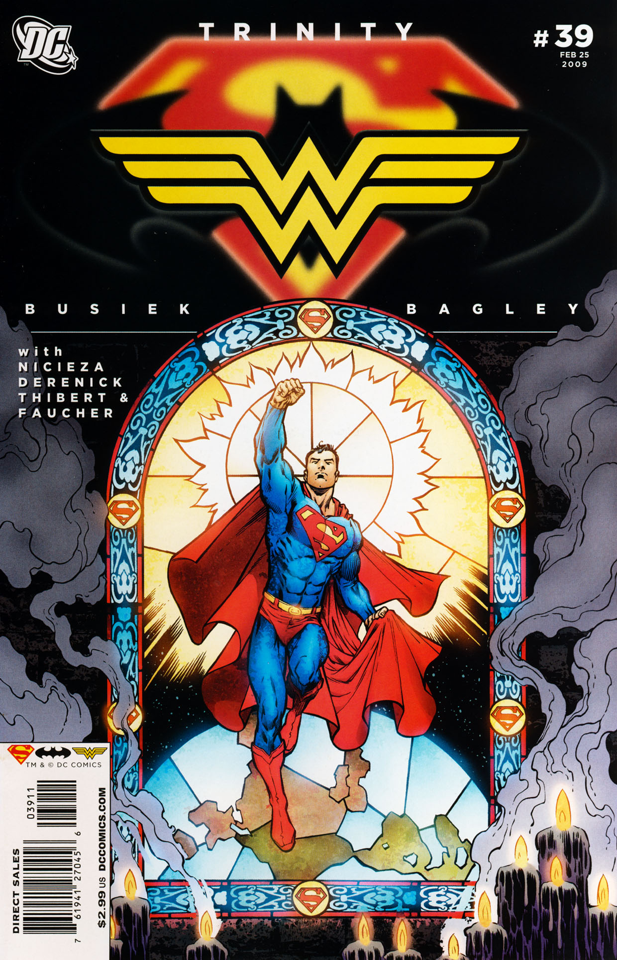 Read online Trinity (2008) comic -  Issue #39 - 1