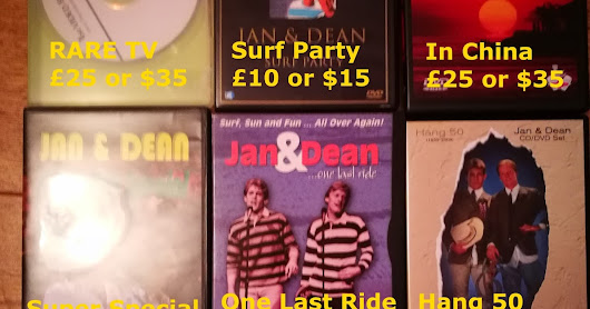 JAN & DEAN DVDs FOR SALE