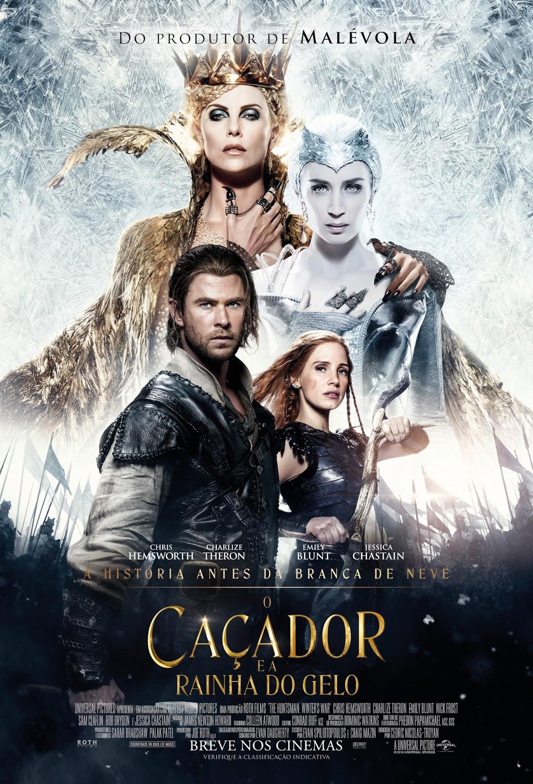 O CAÇADOR E A RAINHA DO GELO (720p)