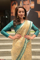 Tejaswi Madivada looks super cute in Saree at V care fund raising event COLORS ~  Exclusive 094.JPG