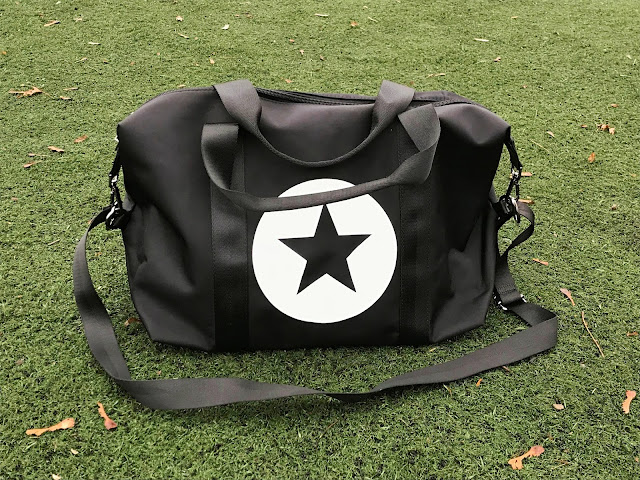 Star Color Block Gym Bag
