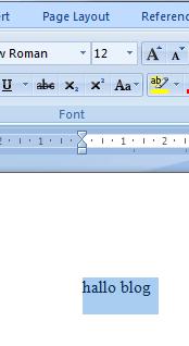 Contoh huruf besar yang diubah menjadi kecil dengan change case