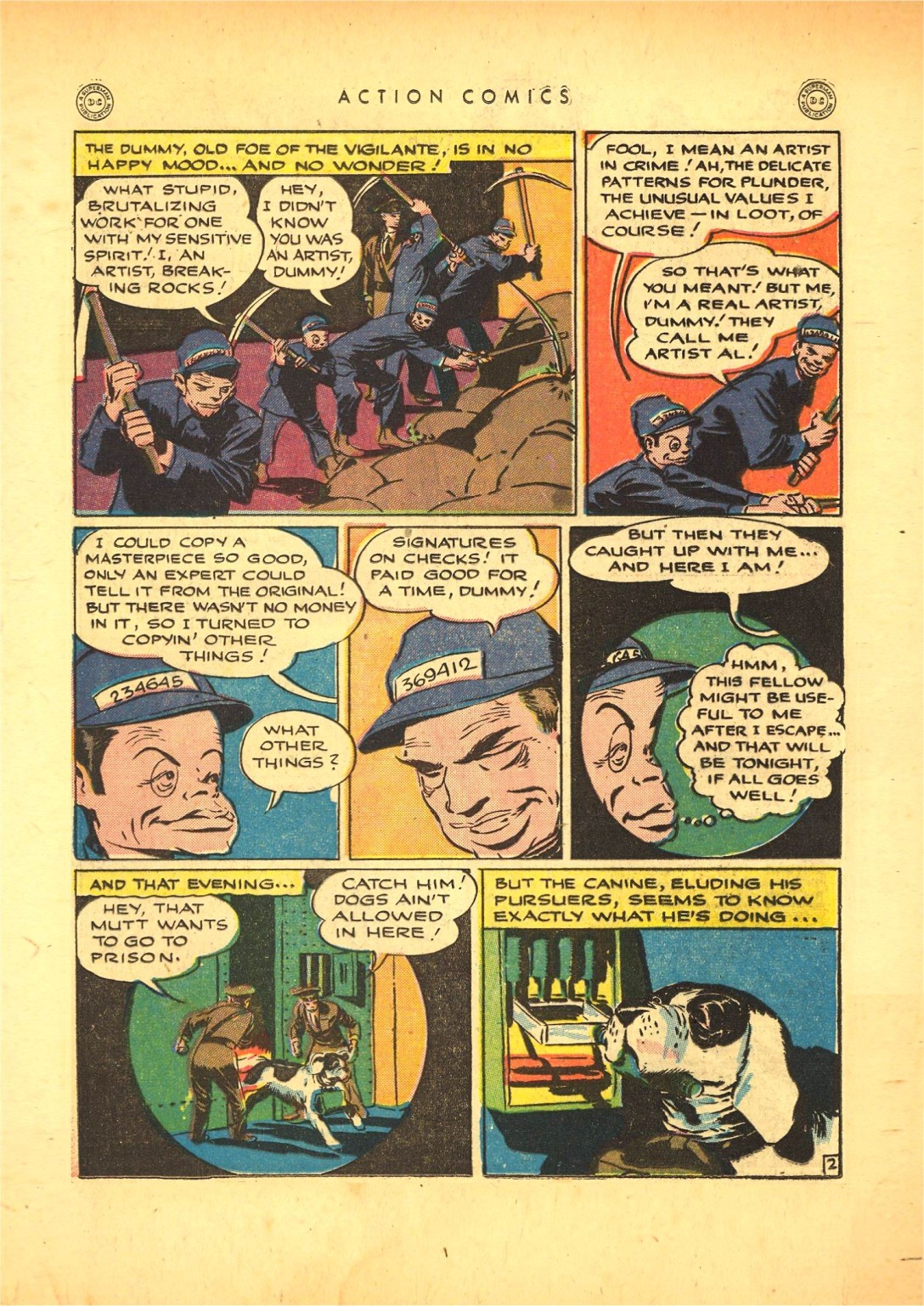 Read online Action Comics (1938) comic -  Issue #87 - 23