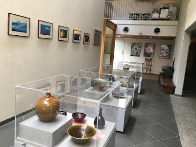 大仙家 陶芸品展示コーナー