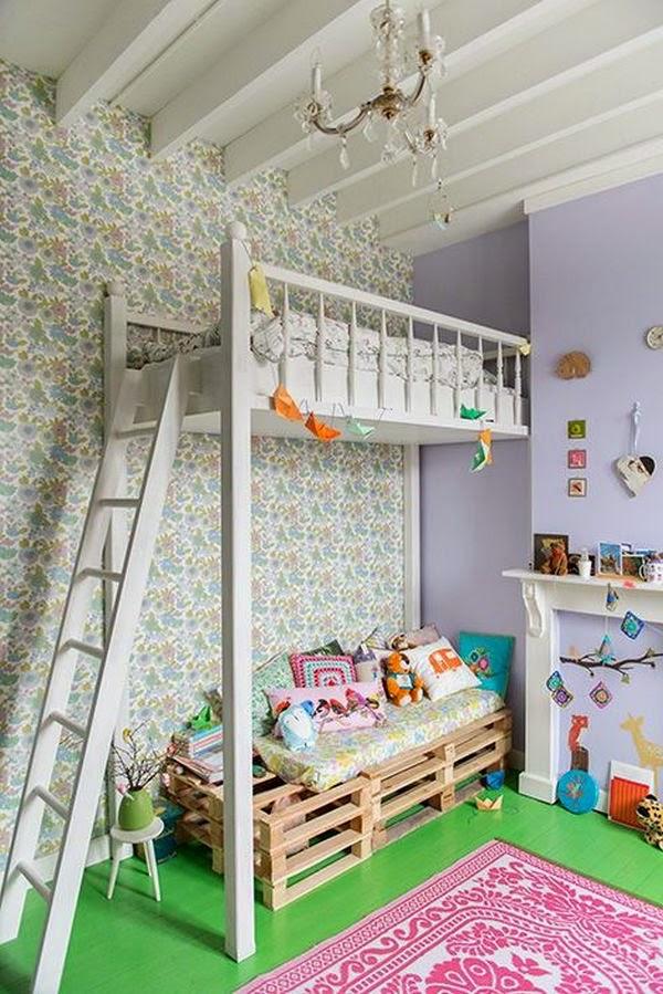 Dormitorio en altillo