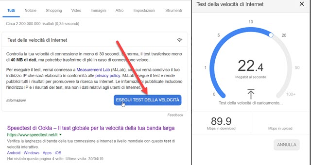 test-velocita-internet-desktop-google