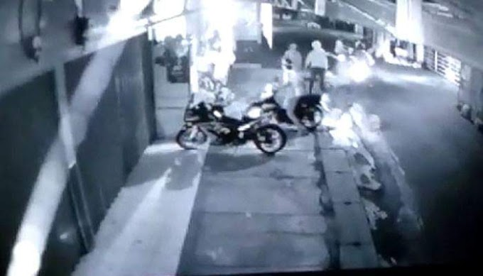 Gerombolan Motor Yang Menjarah Warteg dan Warkop Sedang di Buru Polresta Depok Baru