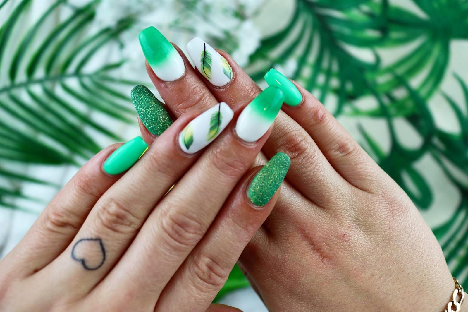 Lauralr Zielone Liscie