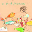 Art Print Giveaway March 2013