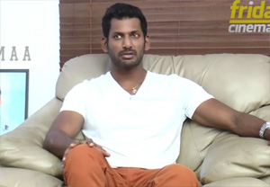 Vishal's marudhu Exclusive interview