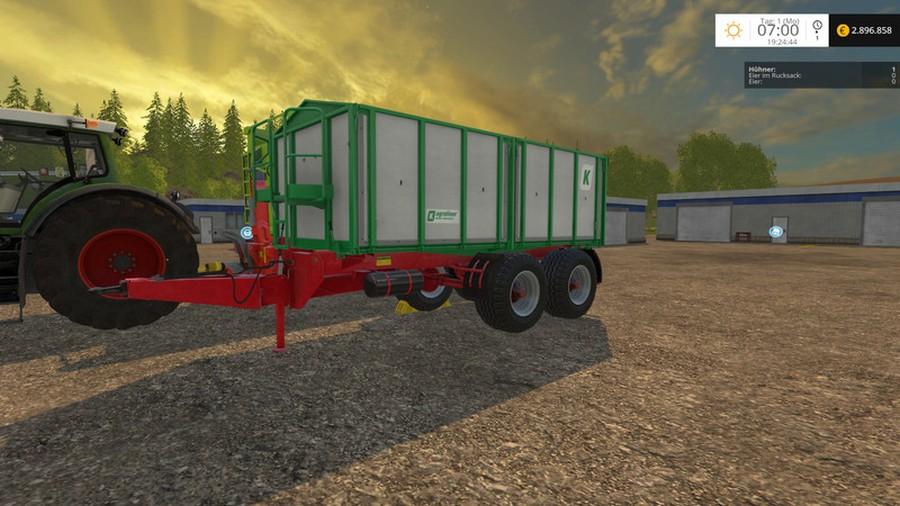 Kröger Agroliner 302 Alu trailer mod 2.0