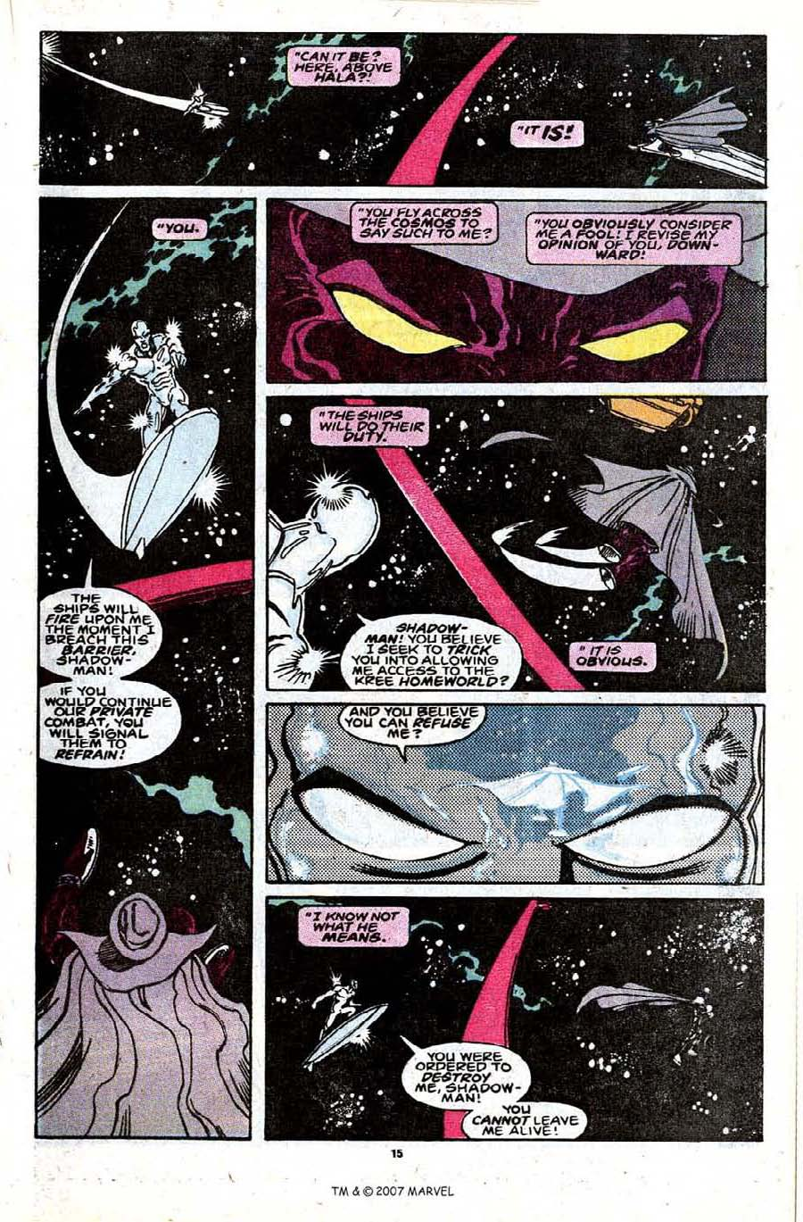 Read online Silver Surfer (1987) comic -  Issue #30 - 17