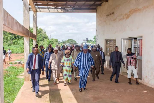 Amosun Marks 2017 Democracy Day with Project Inspection