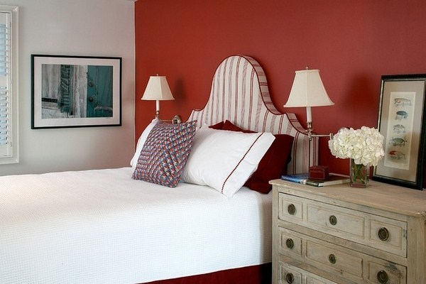 Red Bedroom Design A Modern Design