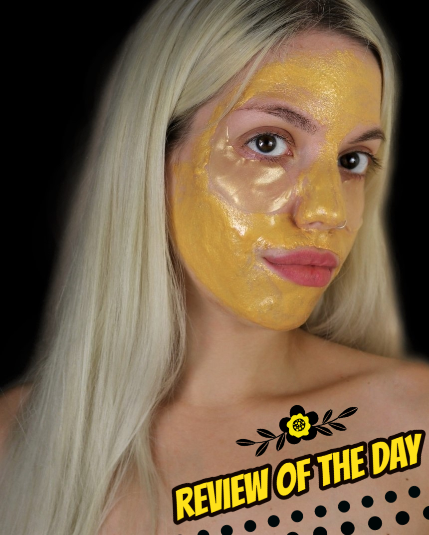 review gold mask