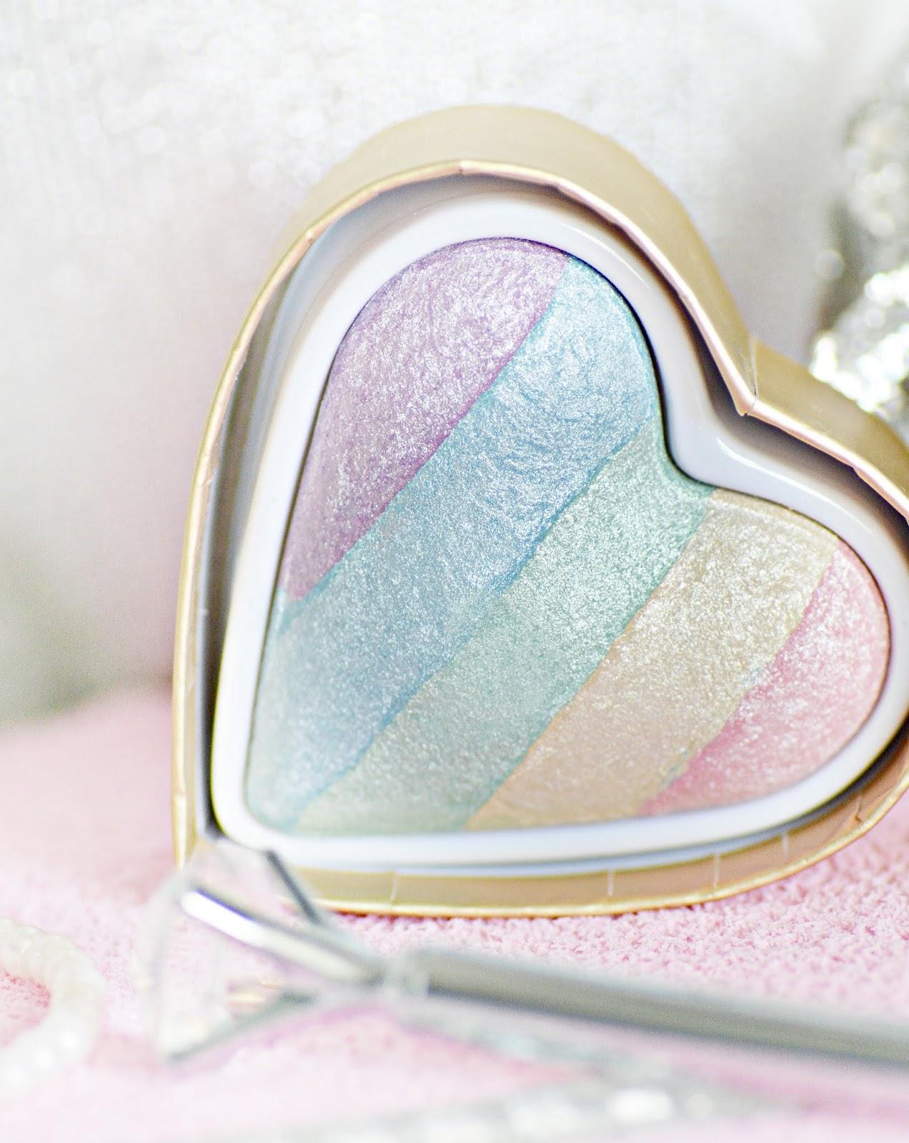 makijażowe nowości makeup revolution, unicorn heart
