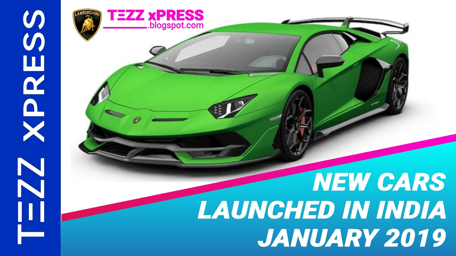New Cars Launched In India January 2019 Tezz Xpress