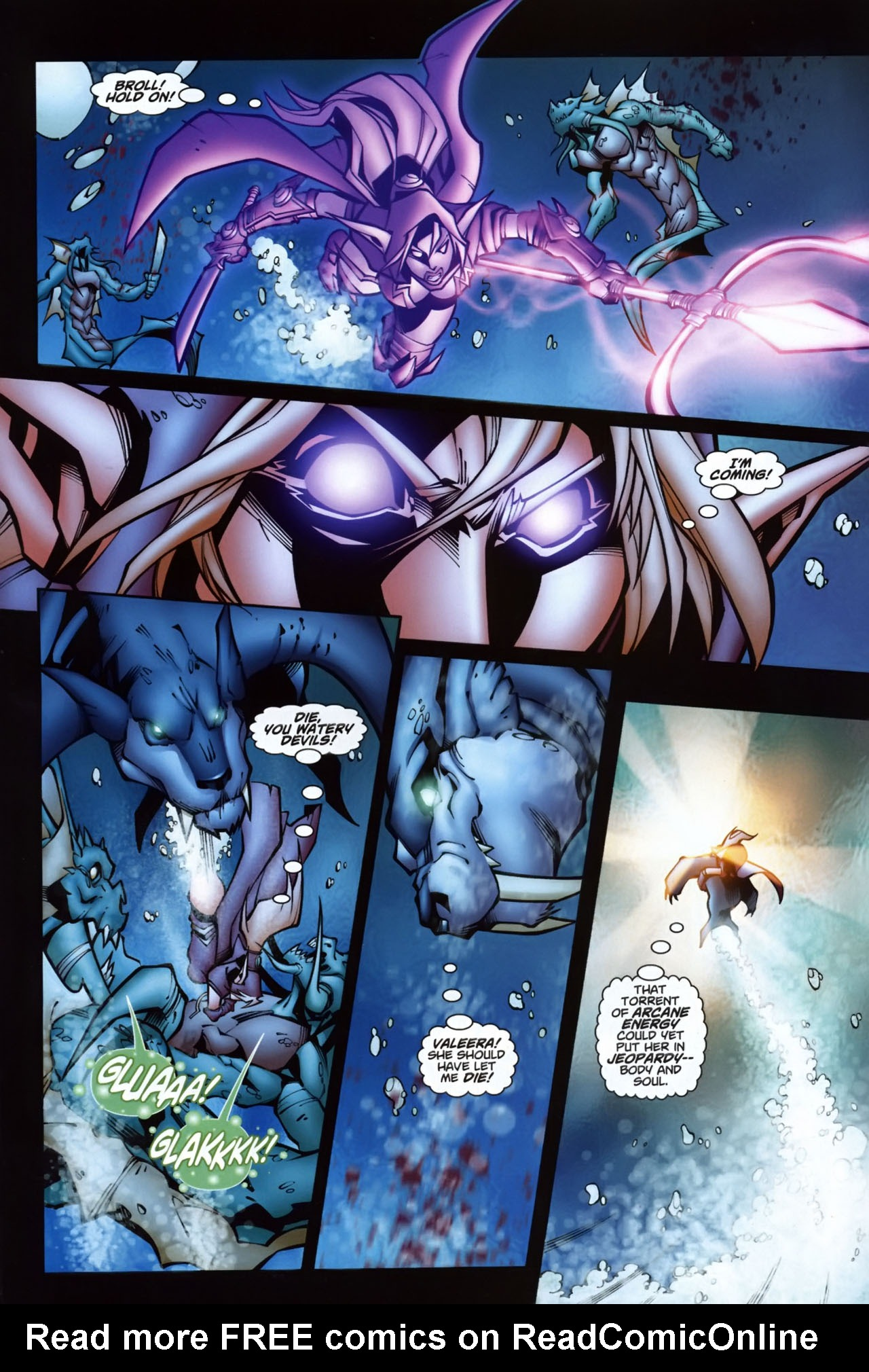 Read online World of Warcraft comic -  Issue #7 - 14