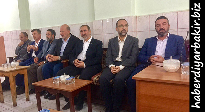 HÜDA PAR Genel Başkanı İshak Sağlam'dan taziye ziyaretleri