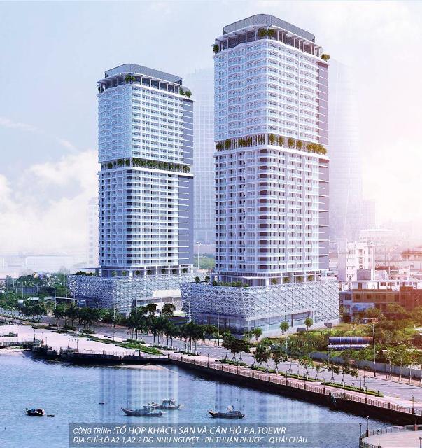 Phối cảnh dự án Movenpick Đà Nẵng
