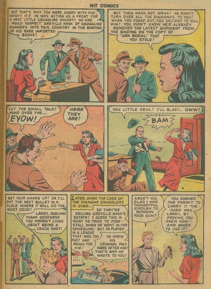 Read online Hit Comics comic -  Issue #61 - 33