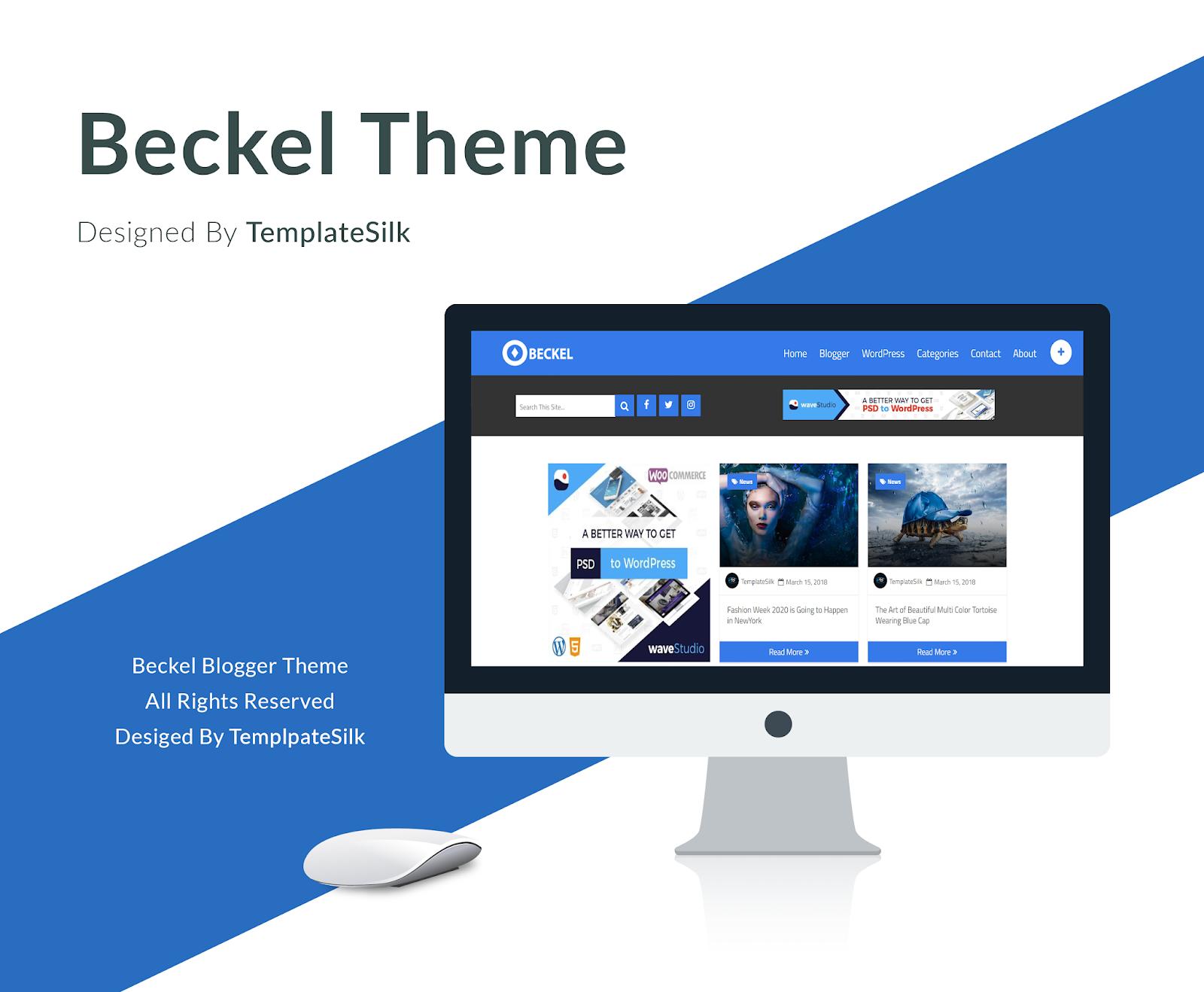 Beckel Blogger Theme