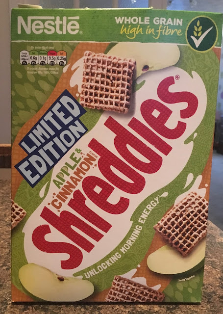 Limited Edition Apple & Cinnamon Shreddies