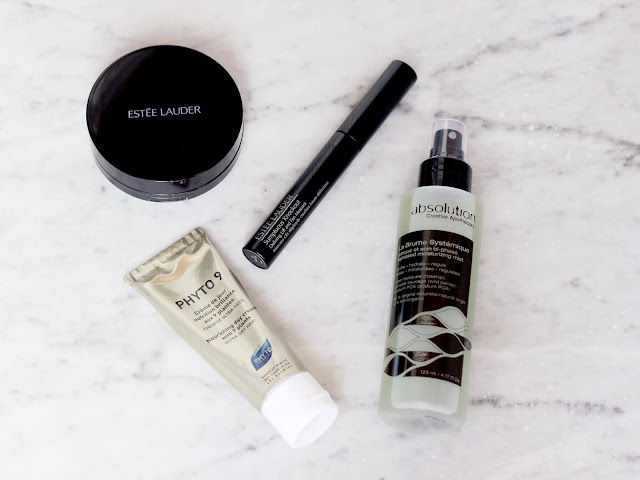 Make-Up Estée Lauder Foundation Mascara Wimperntusche Phyto Haarcreme absolution Feuchtigkeitsspray