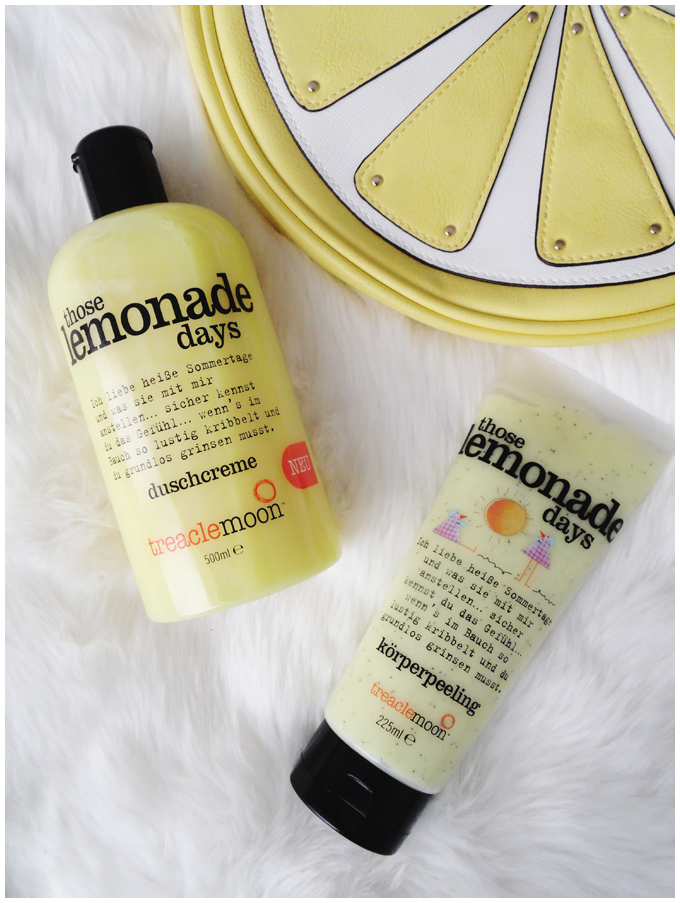 beauty | treaclemoon | those lemonade days shower gel & body scrub | more details on my blog http://junegold.blogspot.de | life & style diary from hamburg | #beauty #treaclemoon #thoselemonadedays #showergel #duschcreme #bodyscrub #körperpeeling
