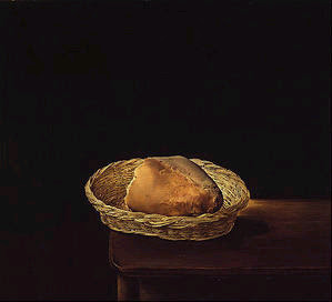 cesta de pan, Salvador Dalí