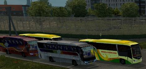 Ets2 Traffic Evonext + Skyliner dan AP Vanhool ~ Mod Ets2 Bus