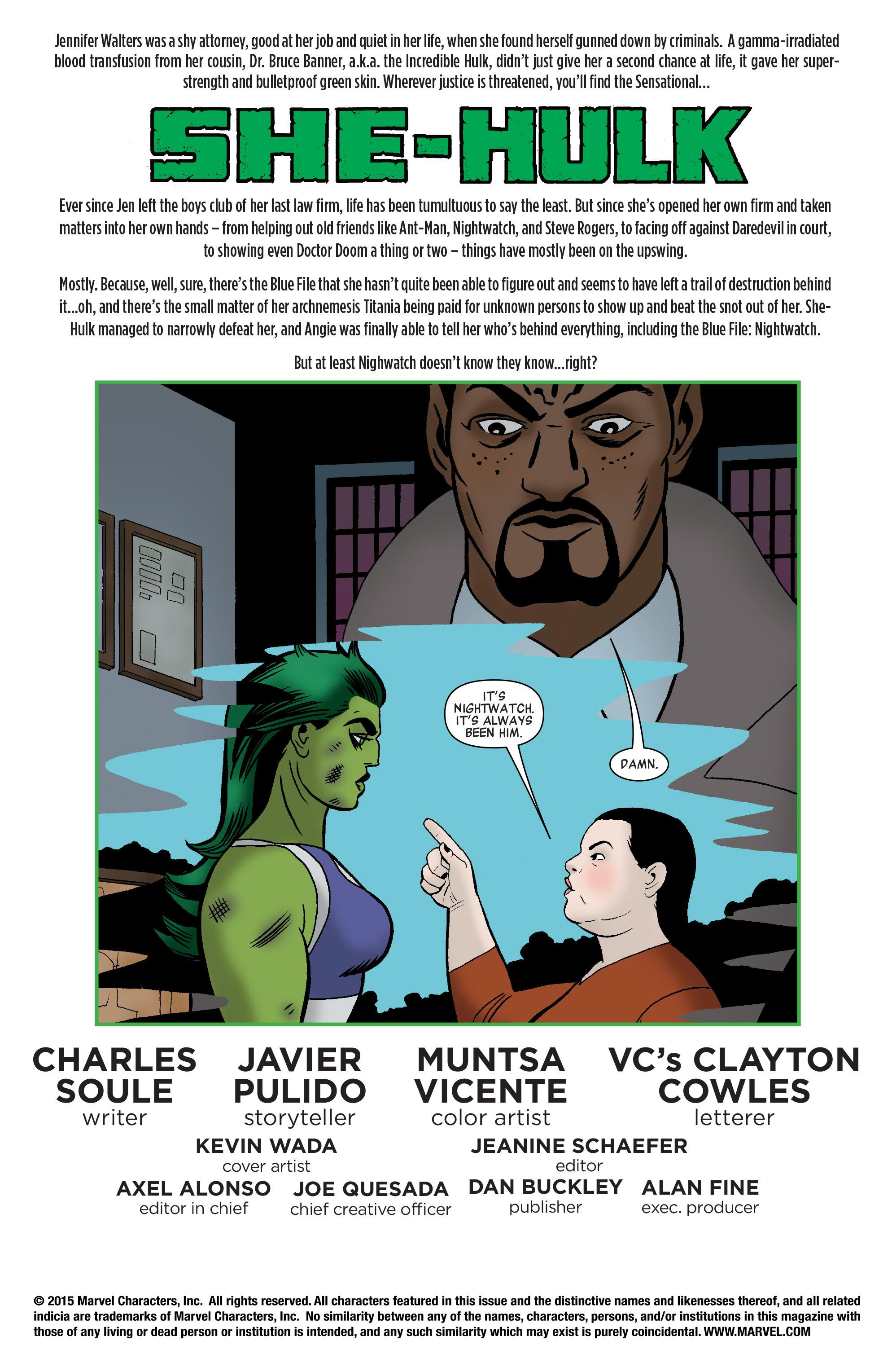 Read online She-Hulk (2014) comic -  Issue #12 - 2