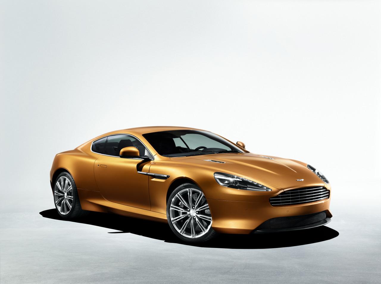 Luxury Car 2013 Aston Martin Virage Coupe Review