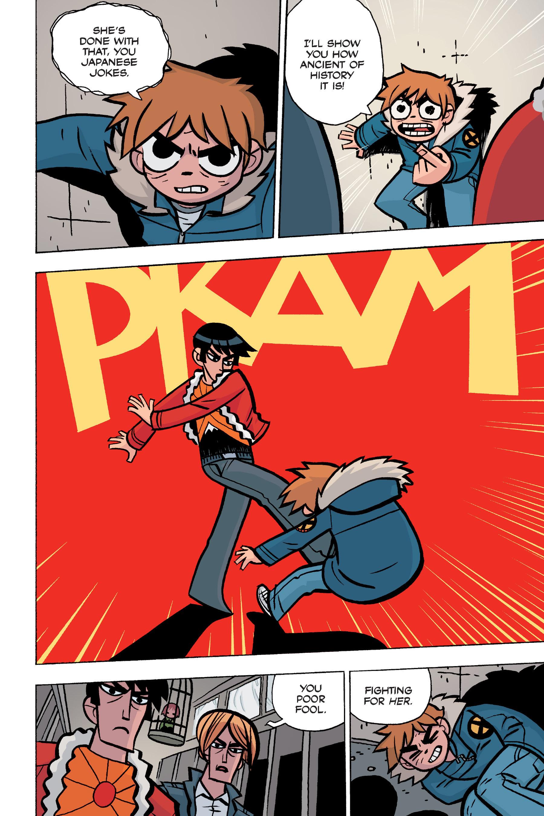 Read online Scott Pilgrim comic -  Issue #5 - 126