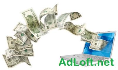 Bukti Pembayaran Adloft.net $5 Melalui Paypal